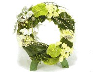 funeral wreath image